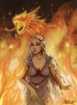 ClaireLyxa - Daenerys Queen of Fire