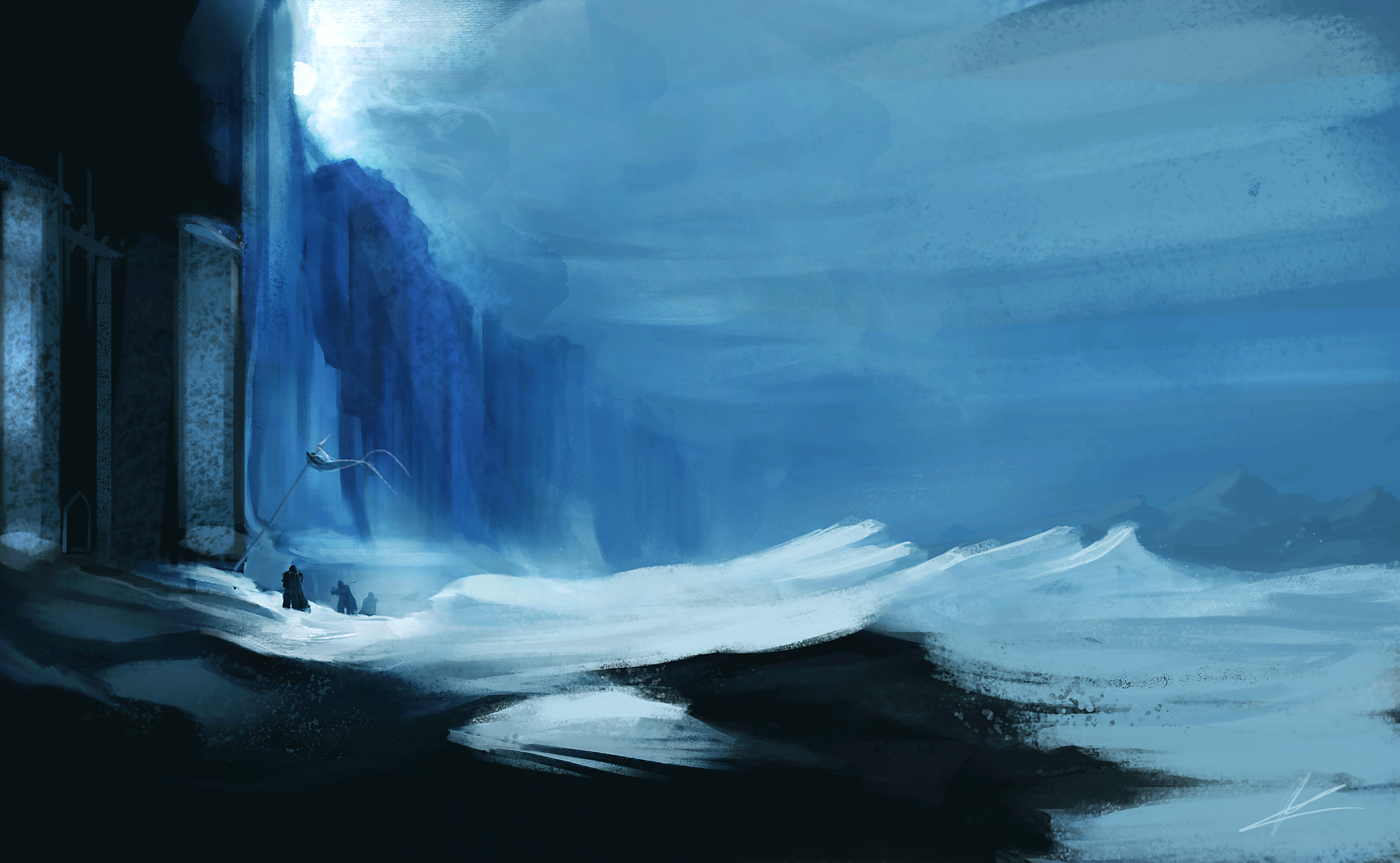 A song of ice and fire wallpaper nights watch