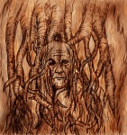 Guad - Bloodraven Wood burn