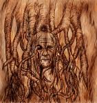 Guad - Bloodraven Wood burn