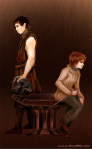 Hilton - Gendry and Arya