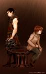 Hilton - Gendry and Arya